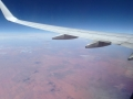 Fliegend überm Outback
