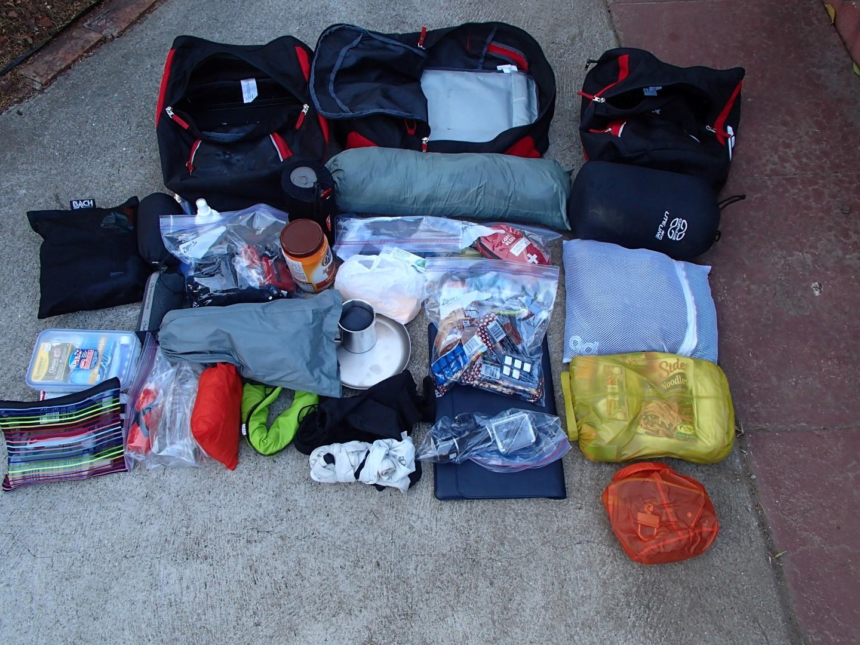 Meine komplette Ausrüstung / My complete equipment